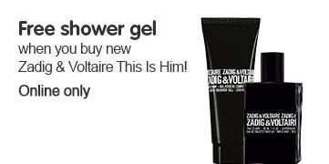 Free shower gel for Z&V