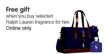 Free gift when you buy selected Ralph Lauren fragrance