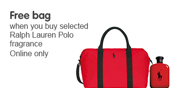 Free bag when you buy selected RL Polo fragrance