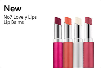 New No7 Lovely Lips Lip Balms