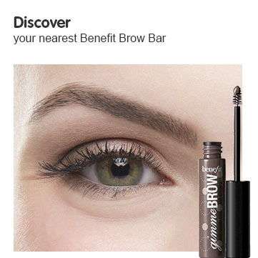Discover Benefit Brow Bars