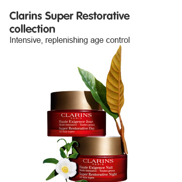 Discover Clarins Super Restorative collection