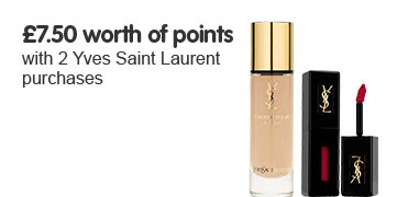 750 points when you buy 2 selected YSL