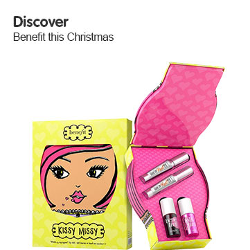 Discover Benefit this Christmas