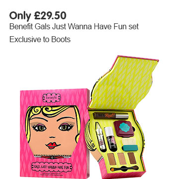 Exclusive to Boots - Benefit gals just wanna have fun set