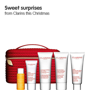 Discover Clarins this Christmas