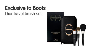 Dior Travel Brush set exclusive to boots