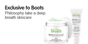 New and Exclusive - philosophy take a deep breath skincare
