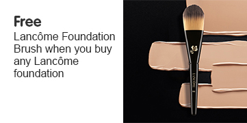 Free gift when you buy any Lancome Foundation