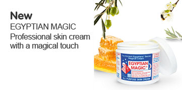 New Egyptian Magic, professional skin cream with a magical touch