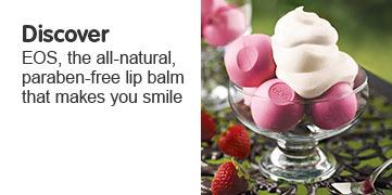 Discover EOS, the all natural paraben free lip balm