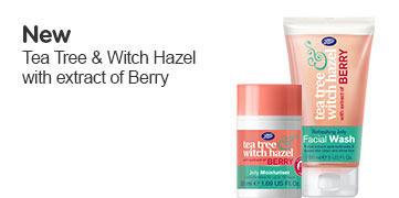 New Tea Tree and Witch Hazel with extract of berry