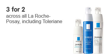 Three for two on La Roche Posay