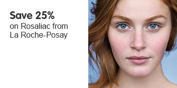 Save 25 percent on Rosaliac from La-Roche Posay