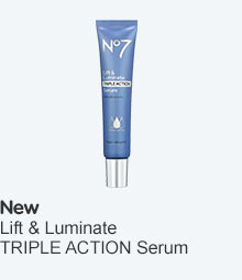 Discover the new lift and luminate triple action serum