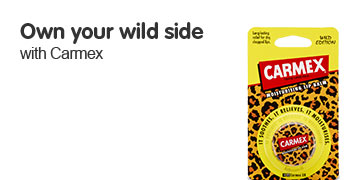 Discover your wild side with Carmex