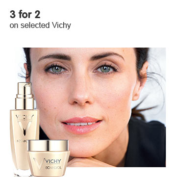 Three for two on selected vichy