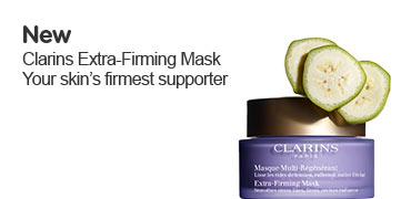New Clarins firming mask