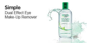 Simole Duel Effect Eye Makeup Remover