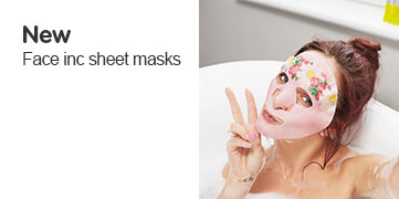 Discover new Face Inc Sheet Masks
