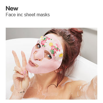 Face inc by nails inc face masks