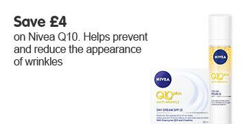 Save four pounds on Nivea Q10