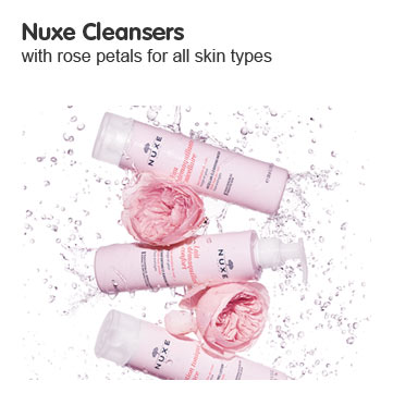 Discover Nuxe cleansers