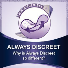 Why is Always Discreet different?