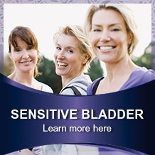 Sensitive Bladder find out more