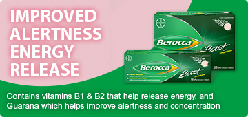 Berocca. Time for a boost?