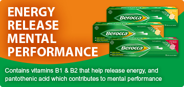 Berocca. Everyday engery release