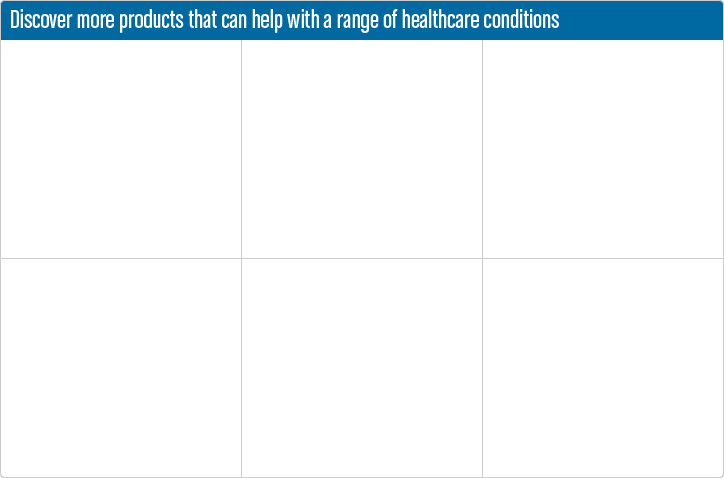 Discover more products that can help with a range of health conditions