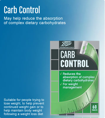 Boots pharmaceuticals carb control