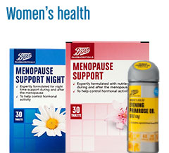 Boots pharmaceuticals women's health