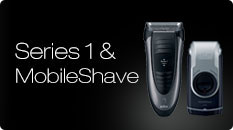 Braun Series 1 & MobileShave Electric Shaver