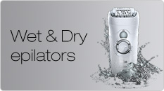 Braun Wet & Dry Epilators