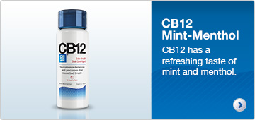 CB12 Mint-menthol has a refreshing taste of mint and menthol