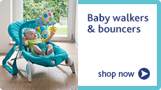Chicco baby walkers and bouncers