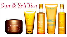 Clarins Sun & Self Tan Range