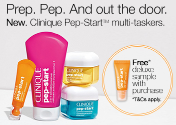 New Clinique Pep Start