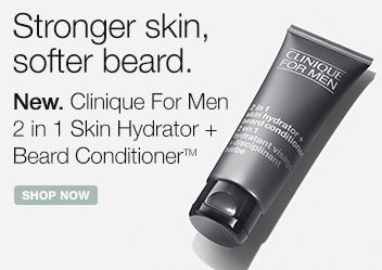 Clinique for Men 2 in 1 Skin Hydrator and Beard Conditioner