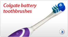 Colgate battery toothbrushes