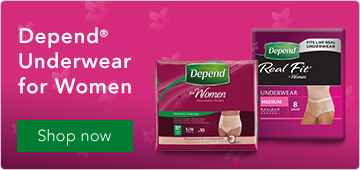 Depend Underwear for Women