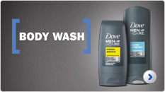 Dove Men+Care Body Wash & Shower Gel