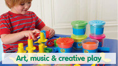 Art, music and creative play