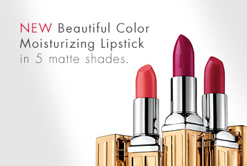 New Elizabeth Arden Beautiful Colour Matte Lipsticks