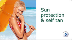 Garnier Ambre Solaire sun protection and self tan