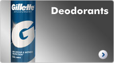 Gillette Deodorants