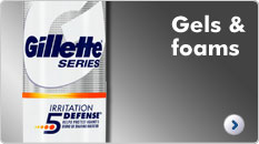Gillette Shaving Gels & Foams
