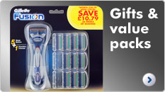 Gillette Gifts & Value Packs